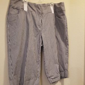 Courtenay Stripped Walking Shorts